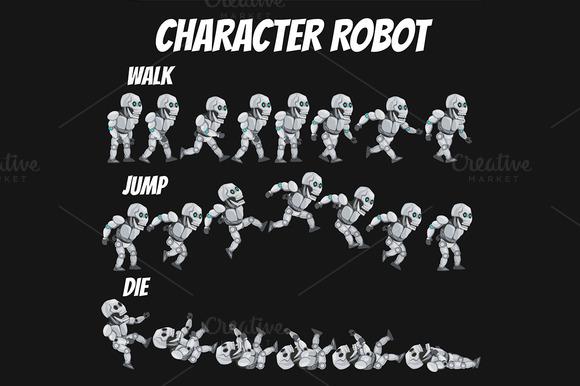 Character Sprite Robot