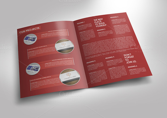 easy brochure template - simple and clean brochure template brochure templates on