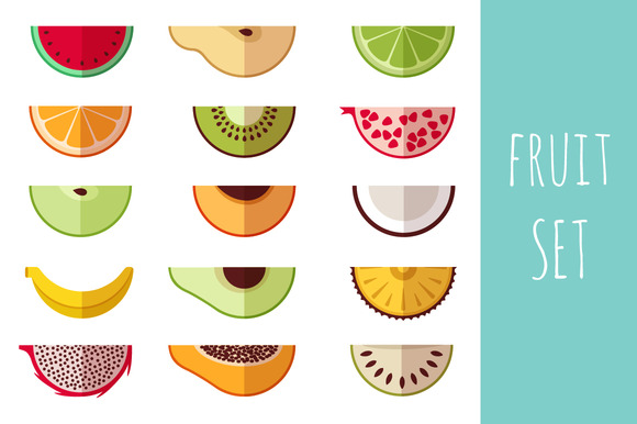 Fruit Set Icons