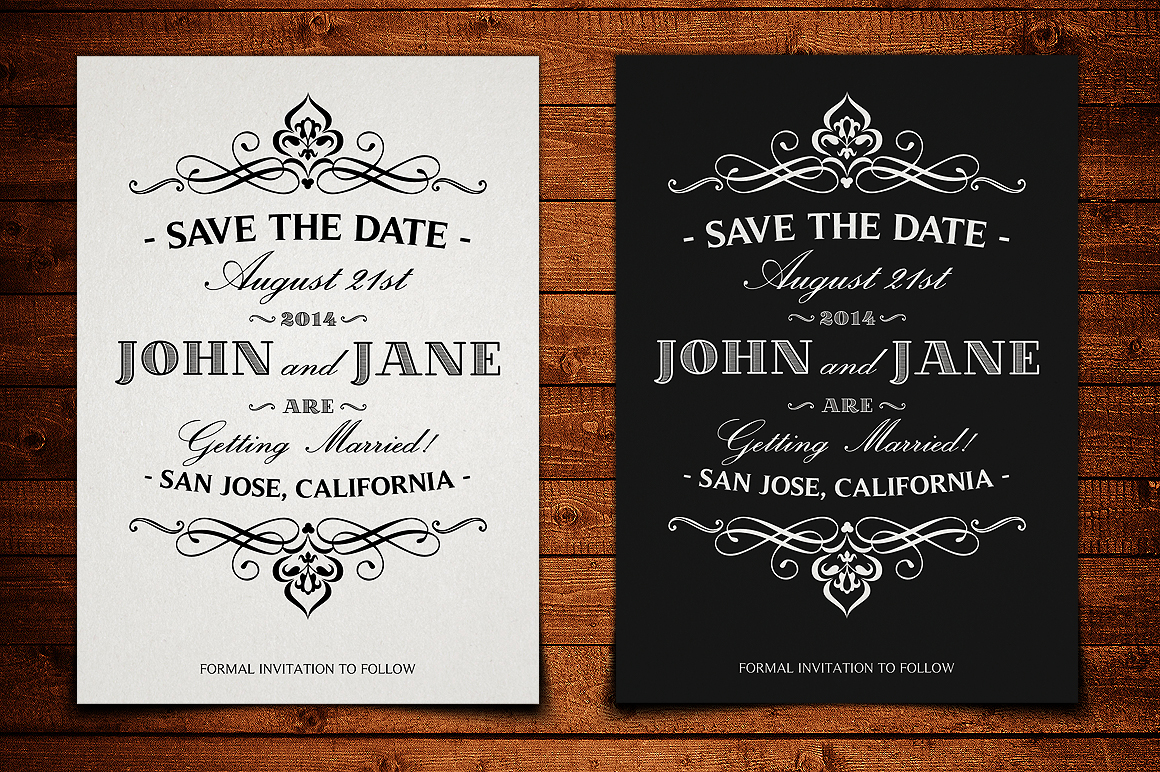 save the date postcard template v 1