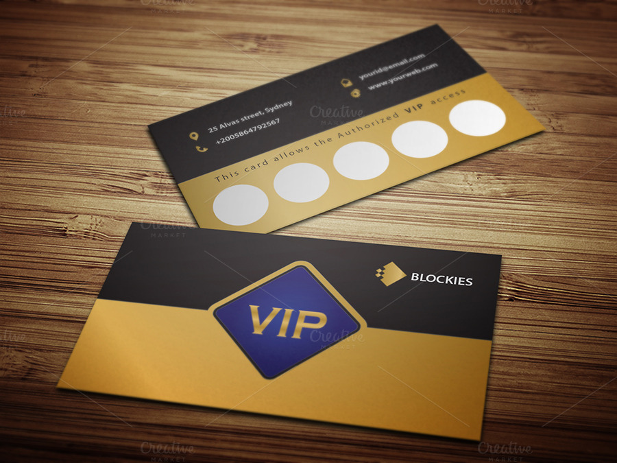 Loyalty Vip Invitation Card Template Invitation