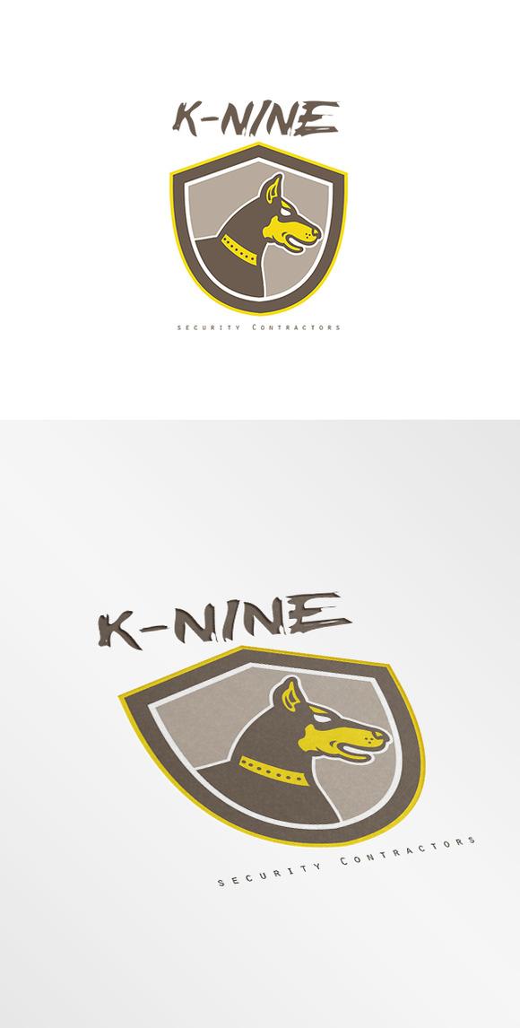 K-Nine Security Contractors Logo