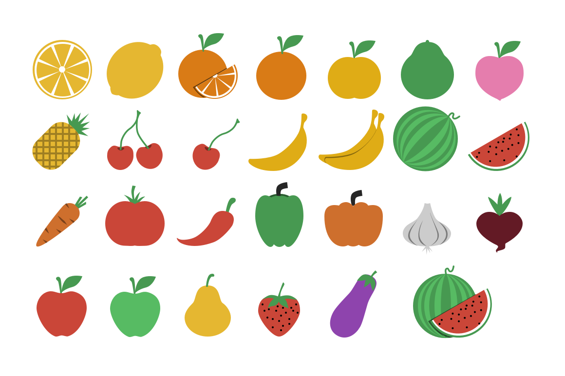 Fruit Png Icons Fruits And Vegetables Icons