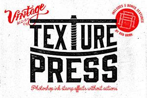 TexturePress - Ink Stamp Effects
