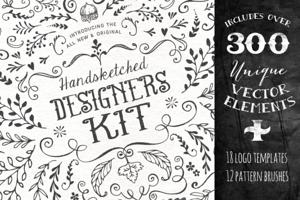 The Handsketched Designers Kit