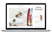 Responsive WP Theme - Coral-Graphicriver中文最全的素材分享平台
