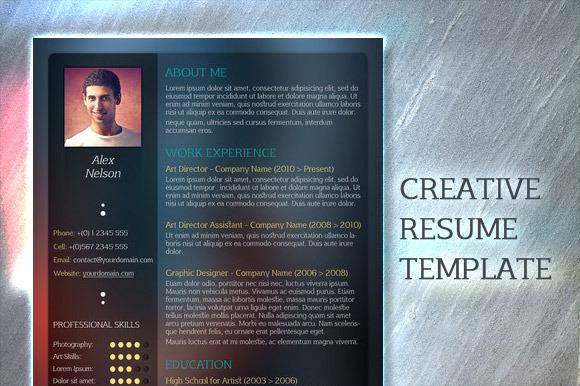 Resume Templates On Creative