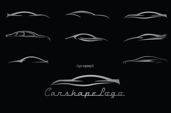 garage sale business idea - Car Shapes For Logos Shapes on Creative Market