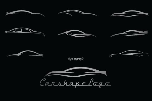 Car Shapes For Logos ~ Shapes on Creative Market