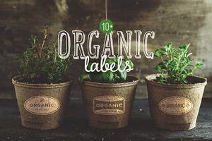 10+ Organic Labels