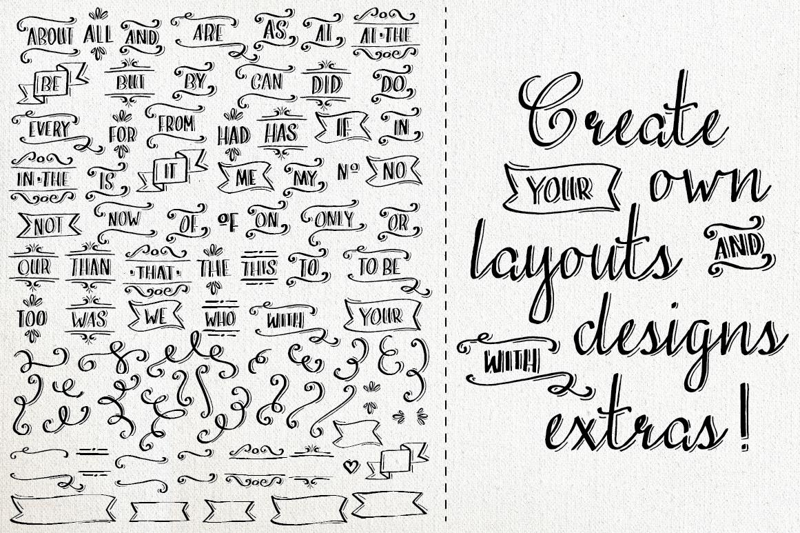 Love Amp Stuff Calligraphy Font Script Fonts On Creative