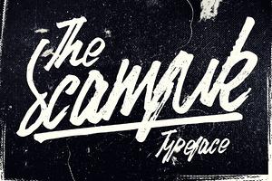 Scamfuk Typeface