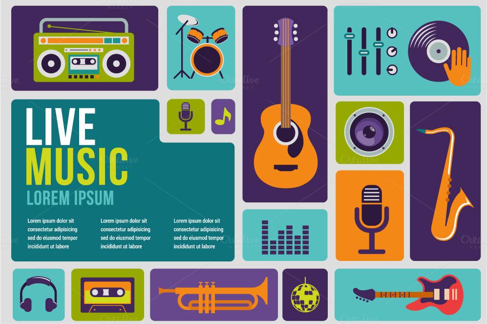 music templates