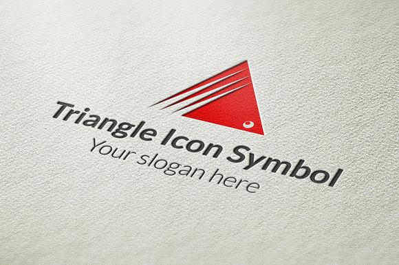 Triangle Icon Symbol Logo
