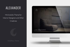 Alexander - A Interior Design Theme