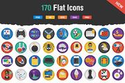 Flatistic - 170 Trendy Flat-Graphicriver中文最全的素材分享平台