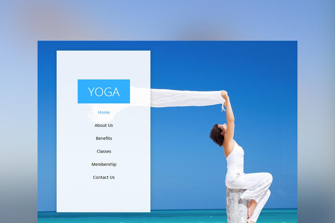 yoga  u2013 one page multi