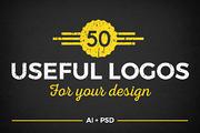 50 USEFUL LOGOS-Graphicriver中文最全的素材分享平台