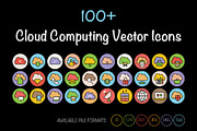 100+ Cloud Computing Vector-Graphicriver中文最全的素材分享平台