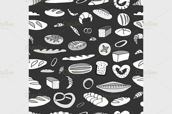 Bakery Background Illustration