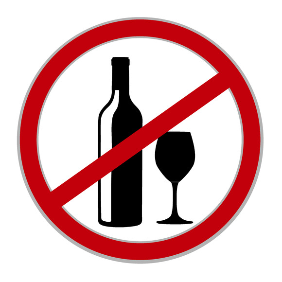No Alcohol Sign Vector Free Download » Designtube ...