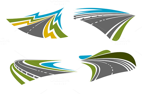Mountain And Coastal Roads