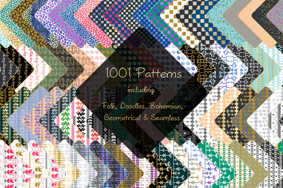 1001 Patterns Bundle 95% Off