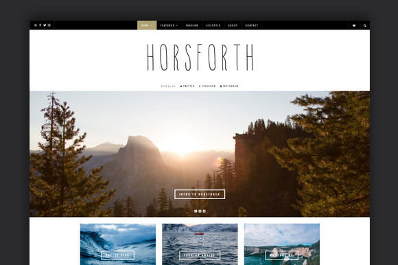 Horsforth - Multipurpose Blog Theme - Blog