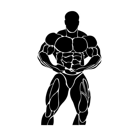 Bodybuilding Powerlifting Icon