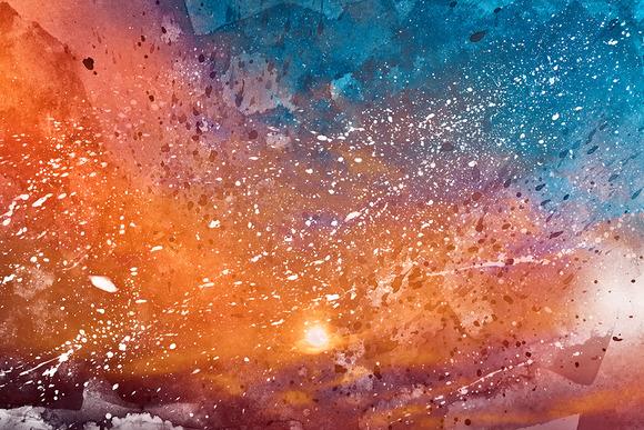 Sun Kissed Acrylic Texture