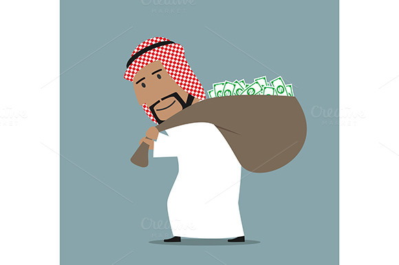 Successful Smiling Arab Businessman