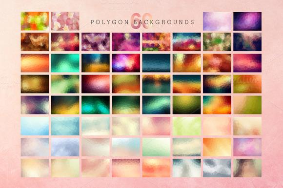 60 Polygon Textures