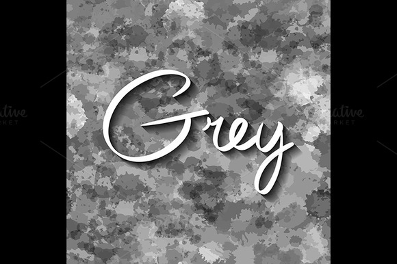 Grey Vector Seamless Pattern