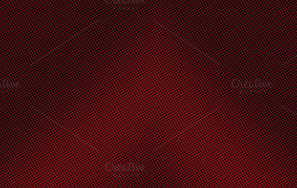 Abstract Black Background Depuntos On Red Background