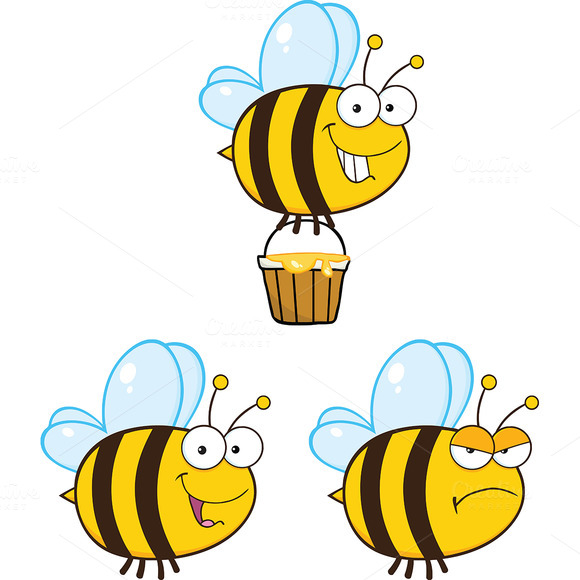 Cute Bee Collection 1