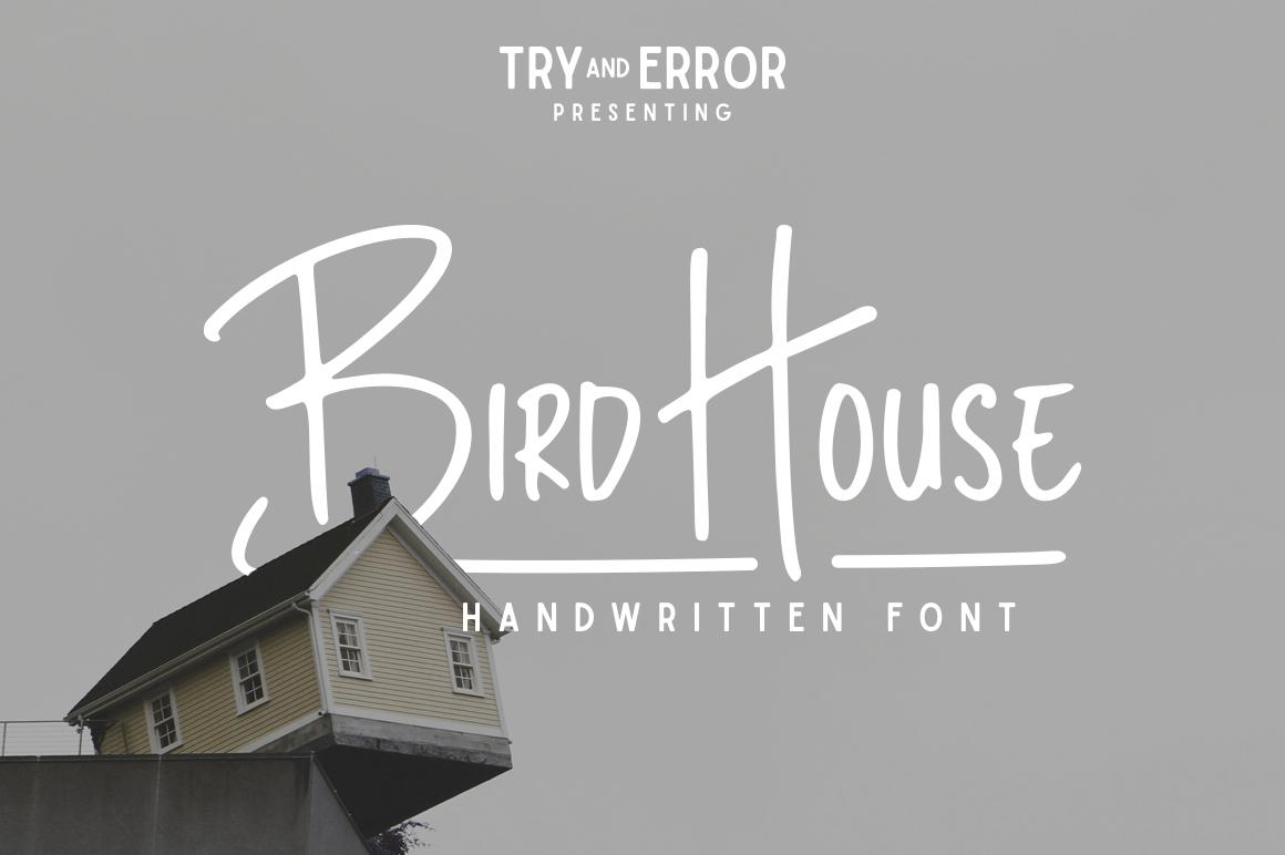 bird house sans serif fonts on creative market. Black Bedroom Furniture Sets. Home Design Ideas