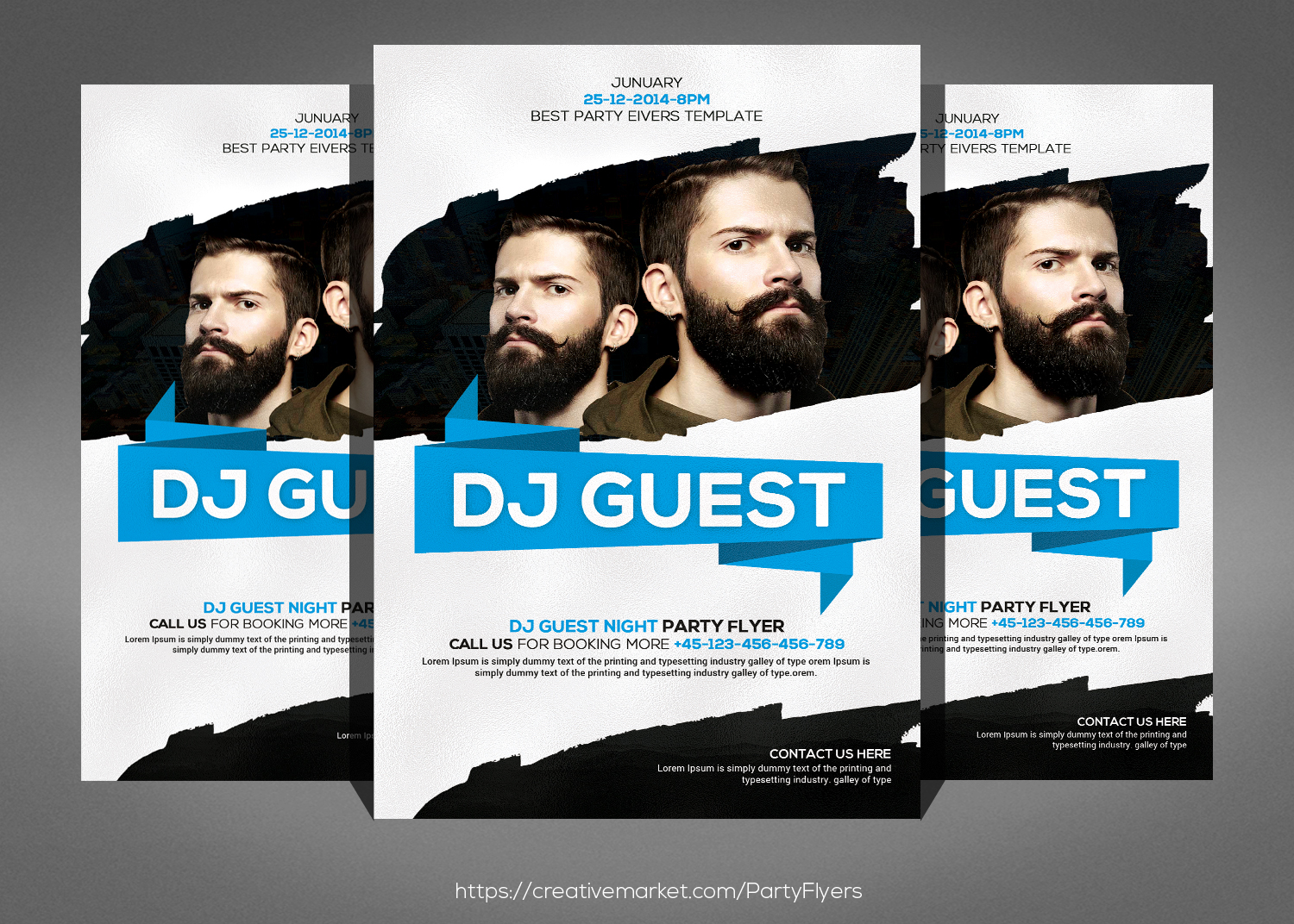 Template: 14+ Mind Blowing Dj Flyer Templates -PSD Download Now!