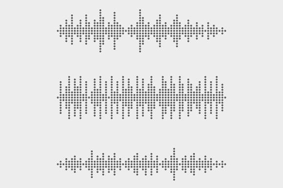 Vector Sound Wave Set