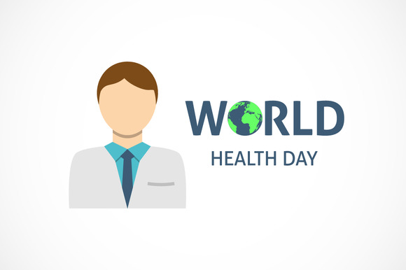 World Health Day Concept With Doctor
