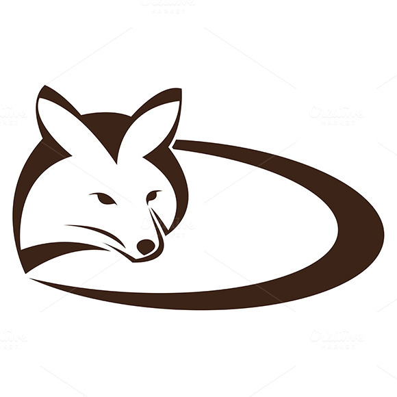 Vector Image Of An Fox
