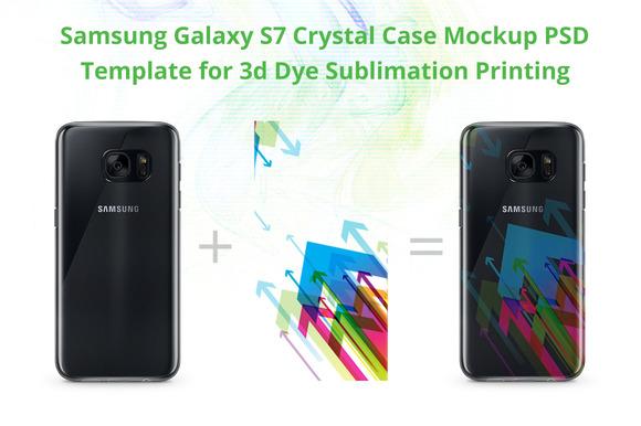 Galaxy S7 Crystal Case Design