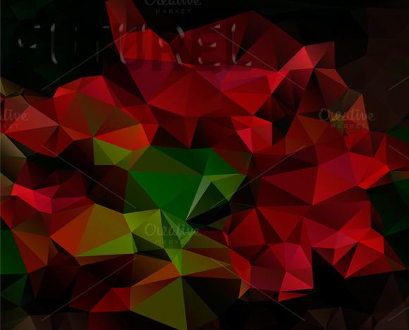 Art Design Polygon Pattern Poster