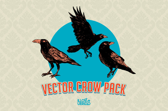 Vector Crows Pack