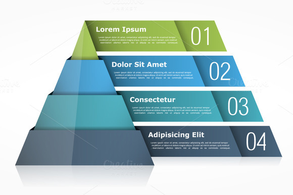The concept of pyramid packaging for