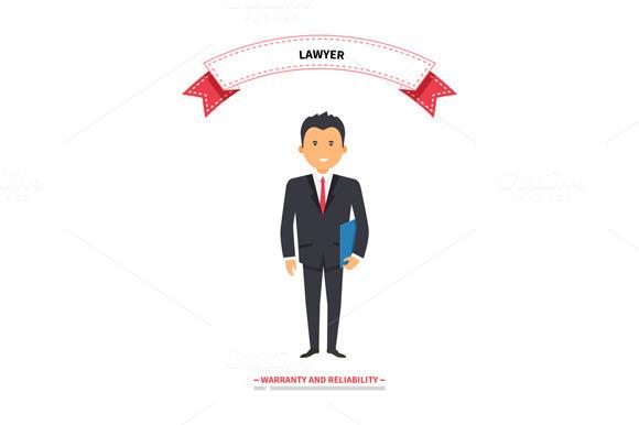 Lawyer Man Warranty And Reliability