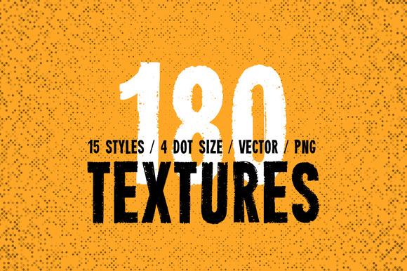 Pure Halftone Textures