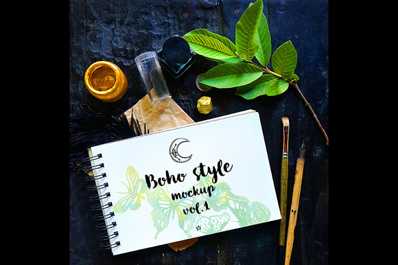 Boho Style Mockup vol.1 - Product Mockups
