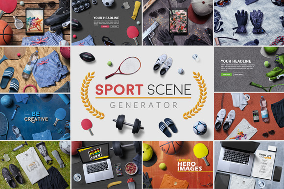 Sport Scene Generator