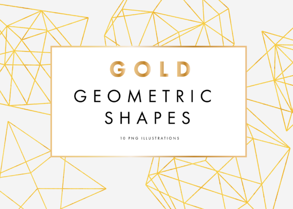 Gold Geometric Patterns