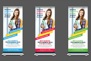 School Promotion Roll Up Ba-Graphicriver中文最全的素材分享平台